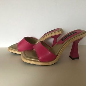 Candie's pink sandals